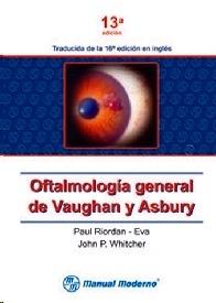 Oftalmología general de Vaughan y Asbury