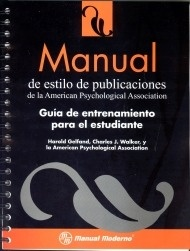 """Manual de Estilo de Publicaciones """"Guia de Entrenamiento para el Estudiante"""""""