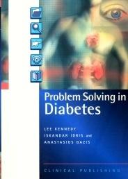 Problem solving in diabetes