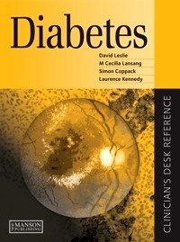 """Diabetes """"Clinician's Desk Reference"""""""