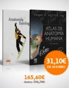 """Pack/Lote Netter - Patton """"Atlas de anatomía humana + Thibodeau. Anatomía y Fisiología"""""""