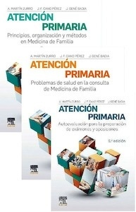 """Lote Martín Zurro Atención Primaria """"Problemas de Salud + Principios, Organización y Métodos + Autoevaluación para la Preparación"""""""