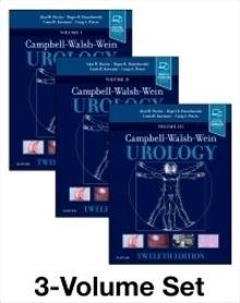 """Urology 3 Vols. """"Campbell Walsh Wein"""""""
