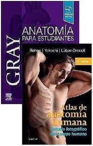 Lote Gray Anatomía para Estudiantes + Atlas de Anatomía Humana. Estudio Fotográfico del Cuerpo Humano