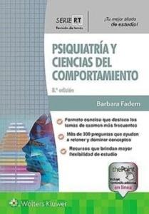 """Psiquiatría y Ciencias del Comportamiento """"Revisión de Temas"""""""