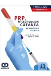 """PRP y Micropunción Cutánea en Medicina Estética """"Libro + Ebook + 13 Videos"""""""
