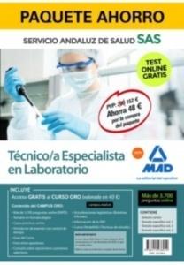 Paquete Ahorro Técnico/a Especialista de Laboratorio del SAS