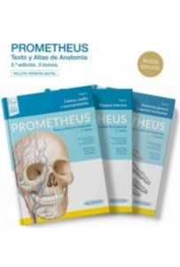 Prometheus Texto y Atlas de Anatomía 3 Vols.